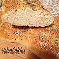Turkish pide ou pain turc