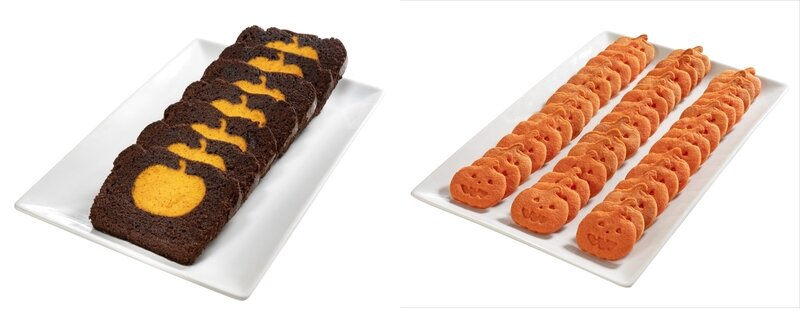 BUFFET - Cake au Chocolat coeur citrouille