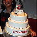 Gâteau KitchenAid factice