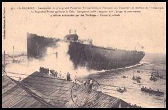 Lancement du France - 1910