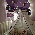 Un arbre géant pour la chambre de loreena