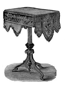 table vintage image graphicsfairy008