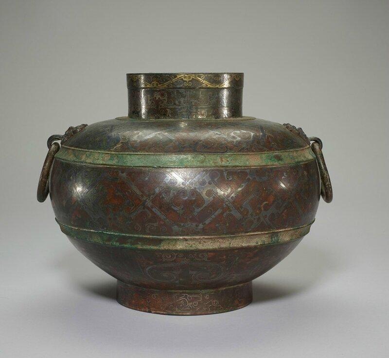 Wine vessel lei