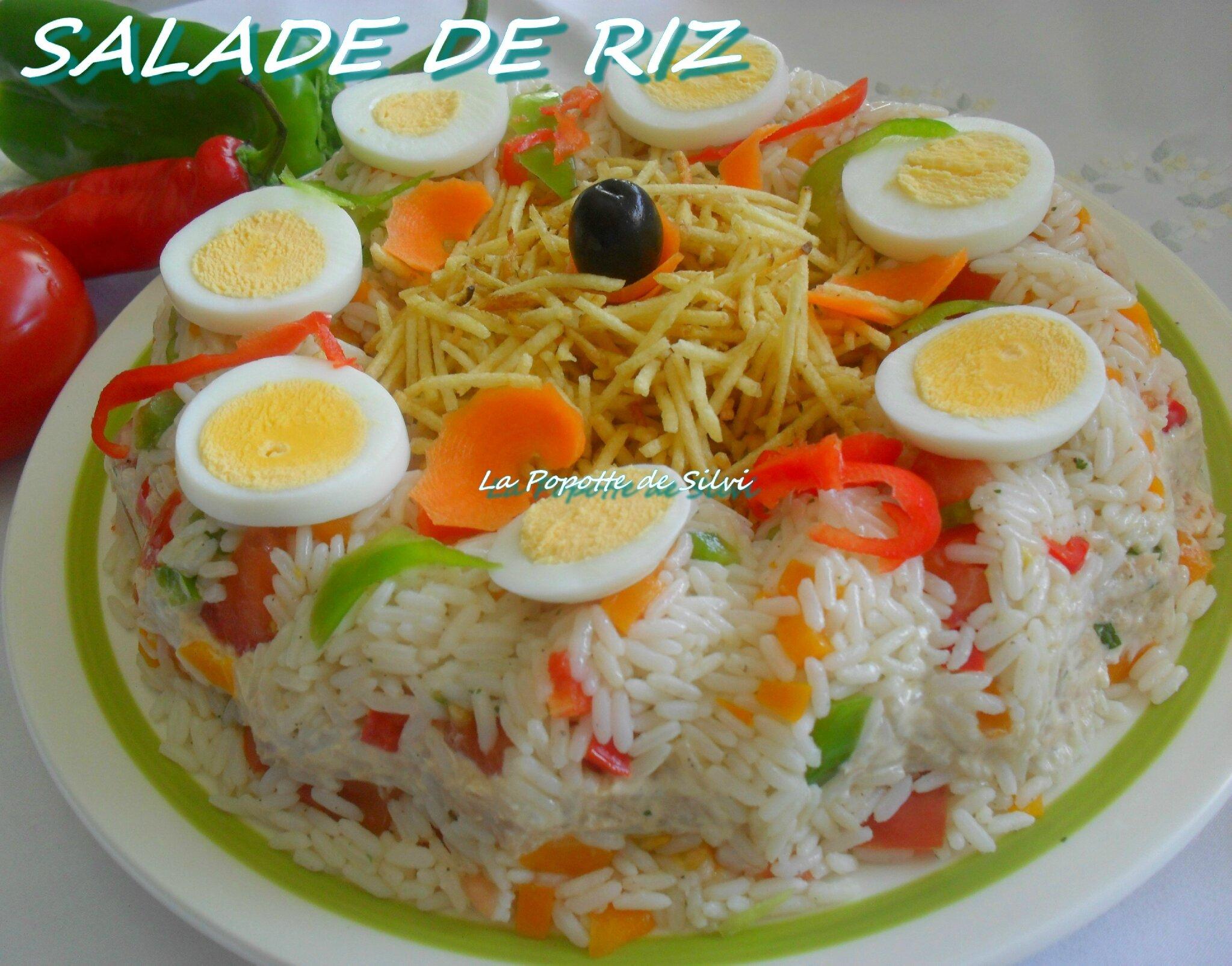 Salade De Riz La Popotte De Silvi