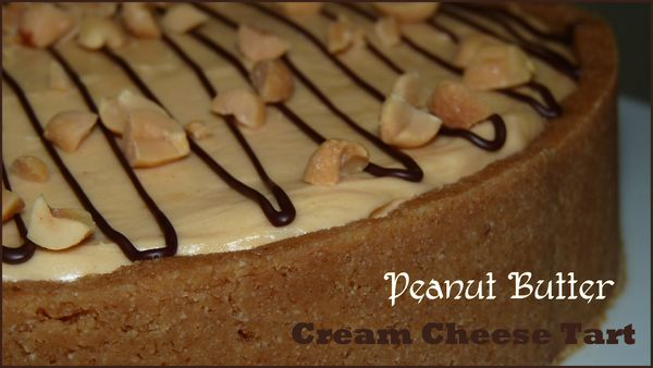 Peanut butter cream cheese tart1