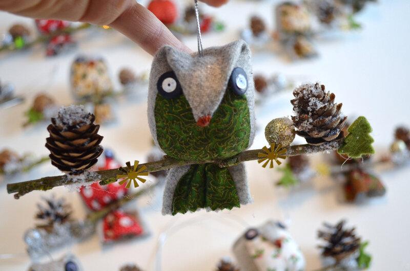 Chouette déco de Noël-La chouette bricole-DIY (4)