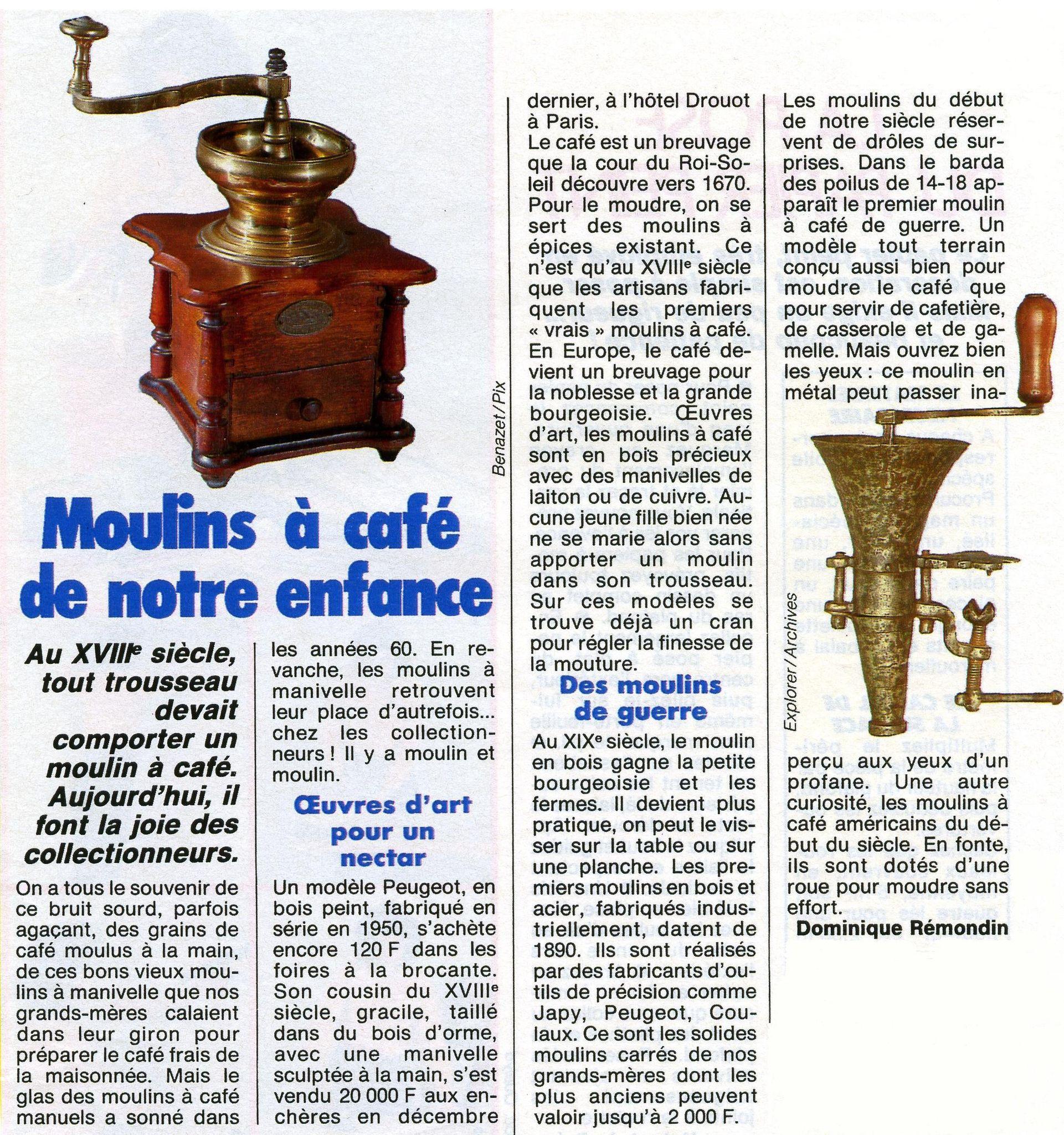 M comme... Moulin à café
