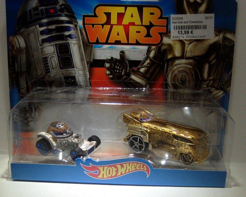 C-3PO (Star Wars) Hotwheels 2014