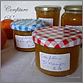 Confiture d'oranges douces ou oranges de table