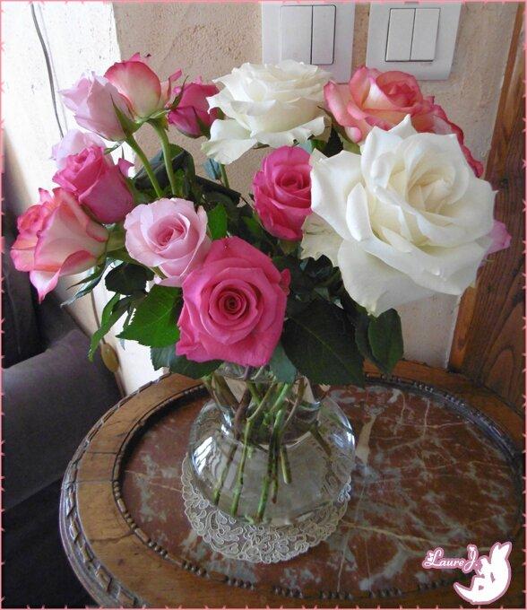 Bouquet roses 14 mars 2015 1