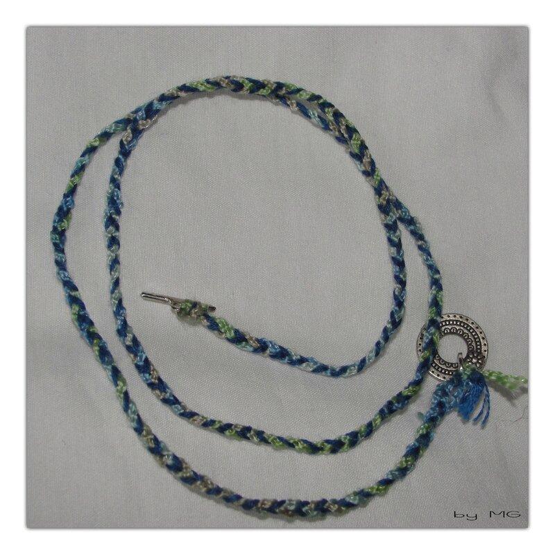 collier tricoté tressé (page 6)