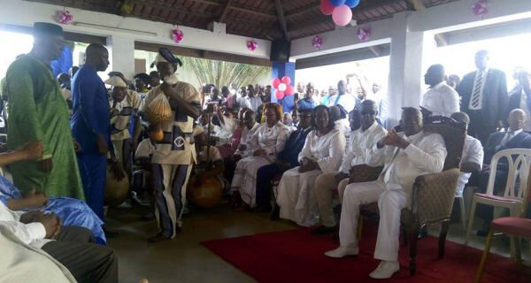 Présentation des vœux du FPI au Président par intérim Sangaré Aboudrahmane : Un acte d'engagement et d'espérance