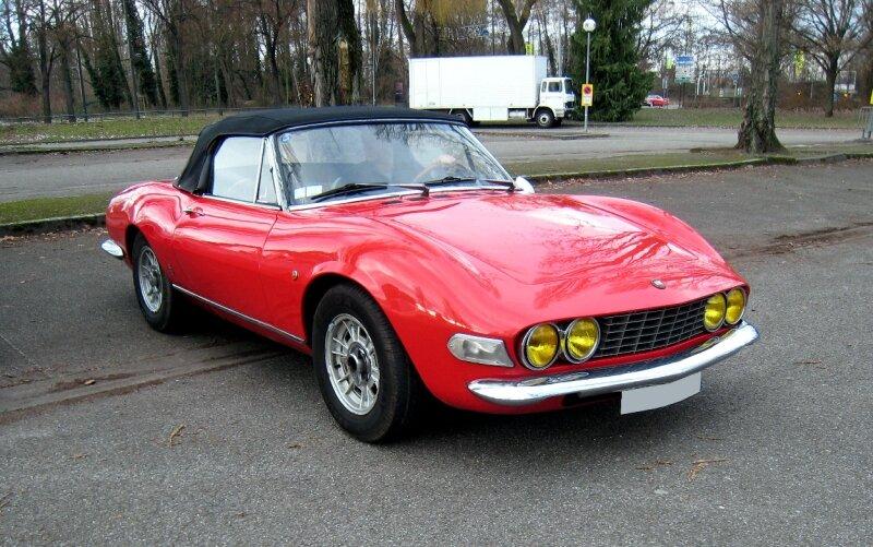 Fiat dino spider de 1968 (Retrorencard janvier 2010) 01