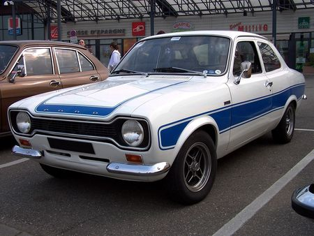 FORD Escort RS 2000 Retrorencard 1
