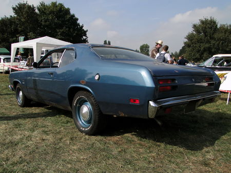 PLYMOUTH Duster Fastback Coupe 1971 Nesles Retro Expo 2009 3