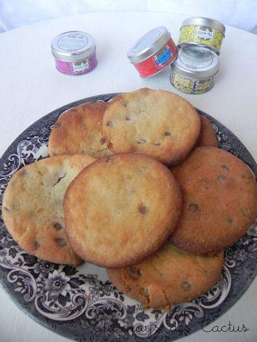 Cookies caramel à la George C Au pays des Cactus