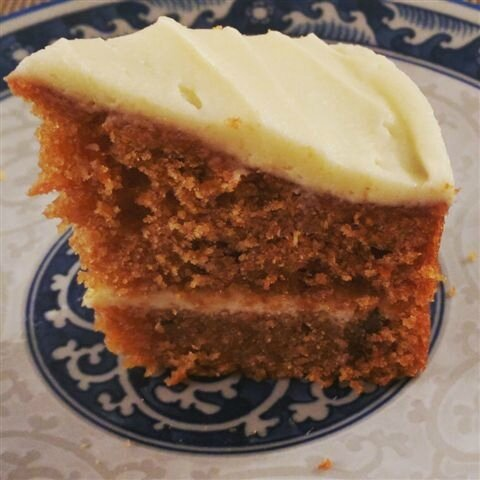 Carrot cake by M&S ©Kid Friendly