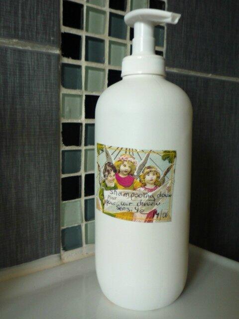 shampooing pour cuir chevelu irrité