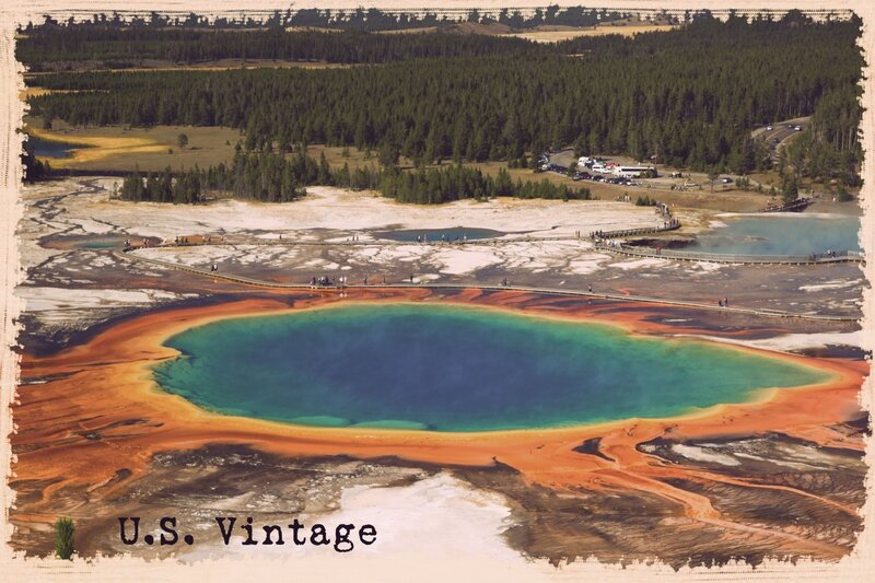 us vintage prismatic yellowstone