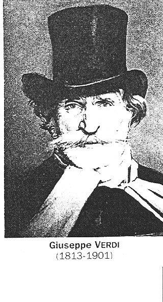 Verdi (giuseppe) 1813-1901 italie