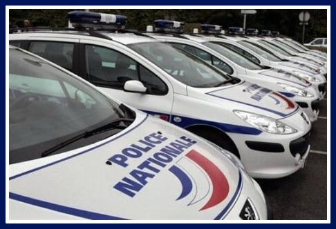 Police nationale voitures
