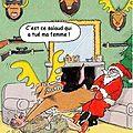 noel cerf chasseur humourx