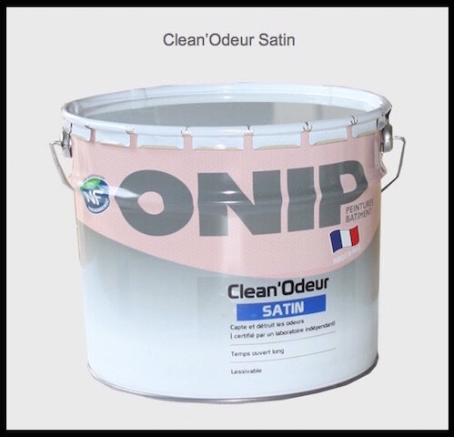 onip clean odeur satin
