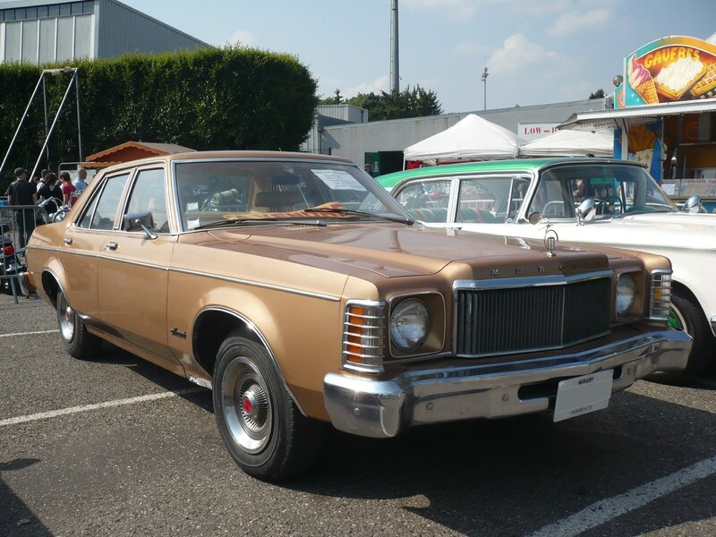 MERCURY Monarch 4door Sedan 1977 Illzach (1)