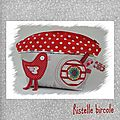 trousse pois rouges Manon 1