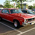 Chevrolet nova coupe de 1974 (Rencard du Burger King mai 2011) 01