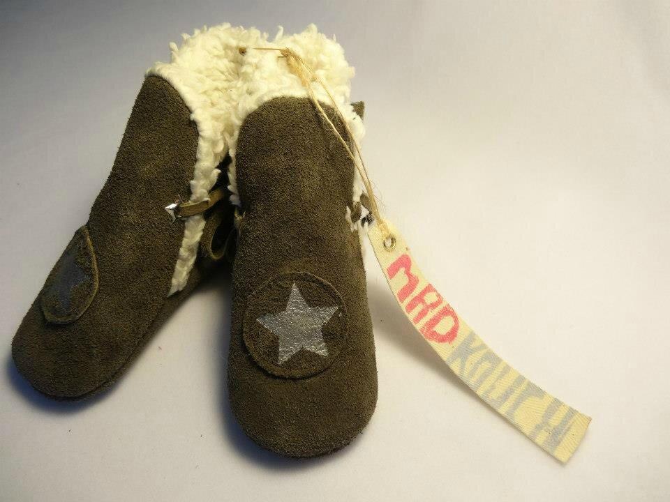 le dernier 3b074 b4024 Des chaussons en cuir pour les enfants! - pitimana le blog !