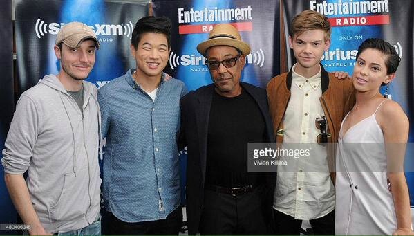 Scorch Trials Comic Con 2015 02