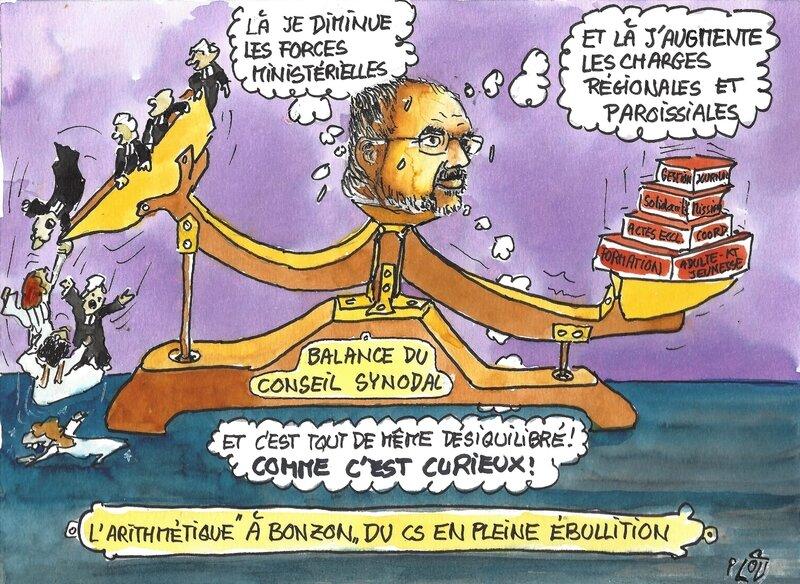 Balance du Conseil synodal