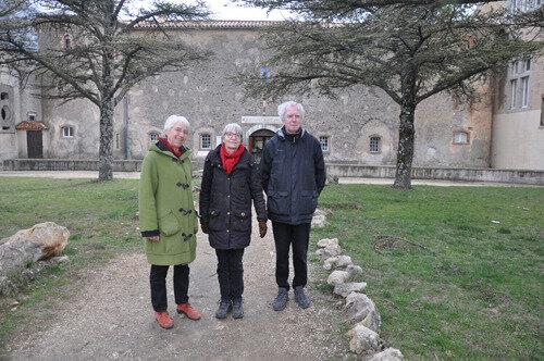 de retour à la Sainte-Baume en 2018