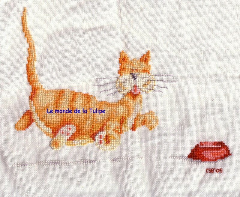 Le chat gourmand cours...