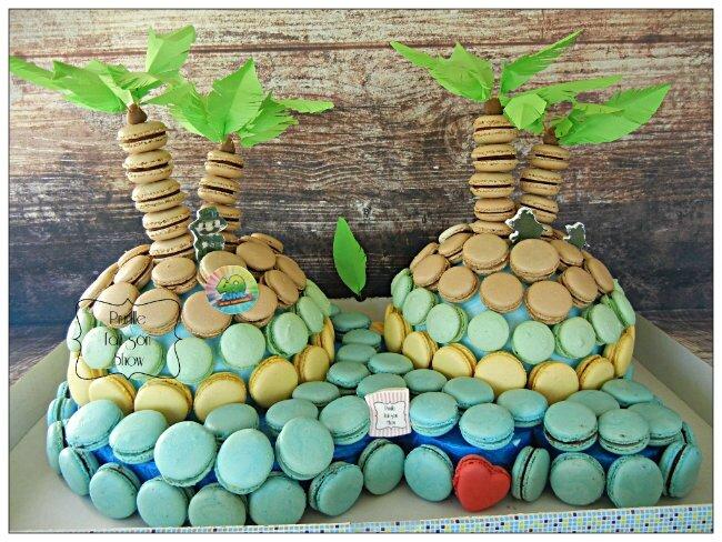 île de macarons prunillefee