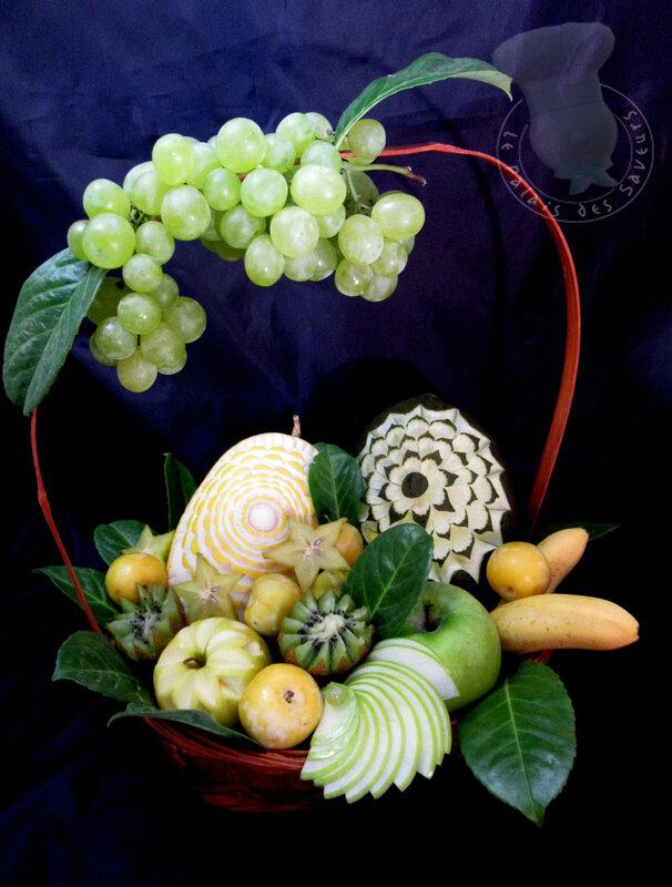 Corbeille de fruits frais #1
