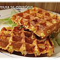 Gaufres à la courge butternut ( sans gluten)