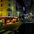 Instantané rue des Abbesses.