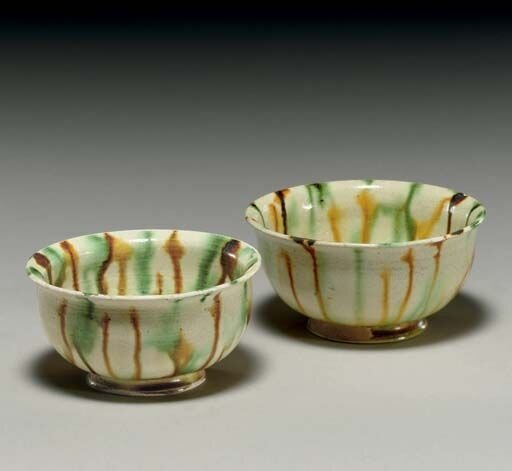Two_small_sancai_glazed_pottery_cups__Tang_dynasty__618_907__