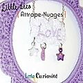 Décoration Murale à accrocher - Attrape-Rêves - Attrape-Nuages étoile + broderie Dream-Love - Crochet & Perles - Kidsroom - Handmade in France - ©LittleCuriosité 2017 (5)