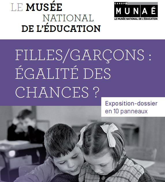 Exposition « filles/garçons : égalité des chances? »