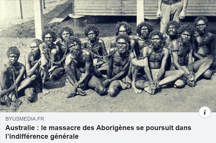 Les autochtones d'Australie
