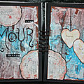 Art journal : amour