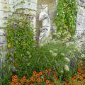 Des fleurs des champs par milliers au château de valencay