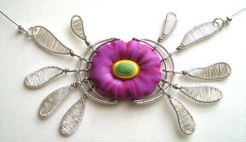 Fleur crabe