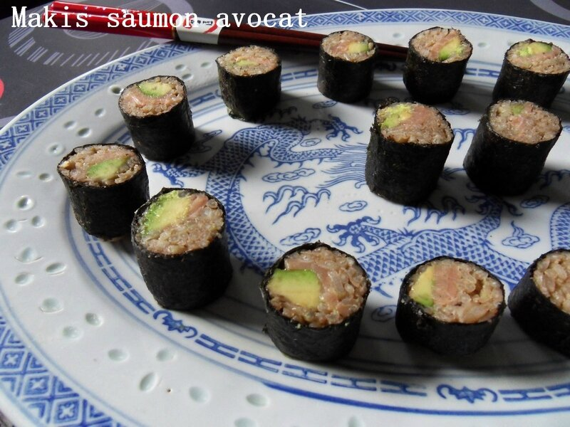 Makis saumon avocat2