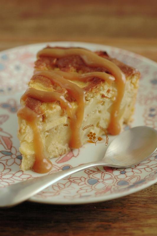 Gâteau madeleine aux pommes_6