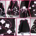 Sarouel et tunique kimono japonisante ...
