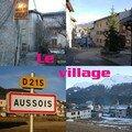 1.Le village